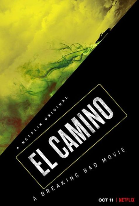 movie posters, promotional posters, el camino a breaking bad movie