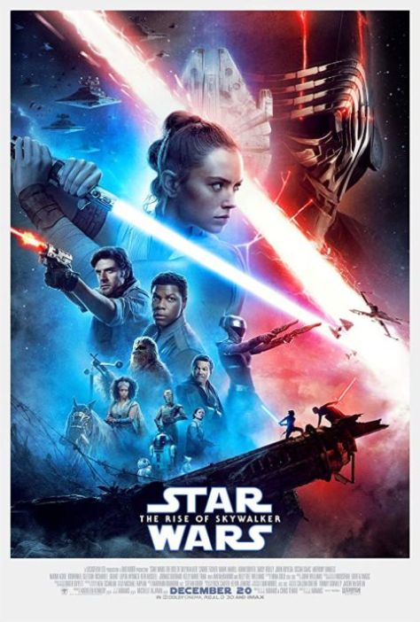 movie posters, promotional posters, lucasfilm, walt disney pictures, star wars the rise of skywalker