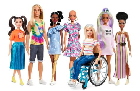 fashion dolls, barbie, mattel, barbie fashionista