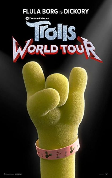 movie posters, promotional posters, dreamworks tv, trolls world tour, trolls world tour posters