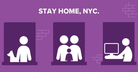 stay at home nyc