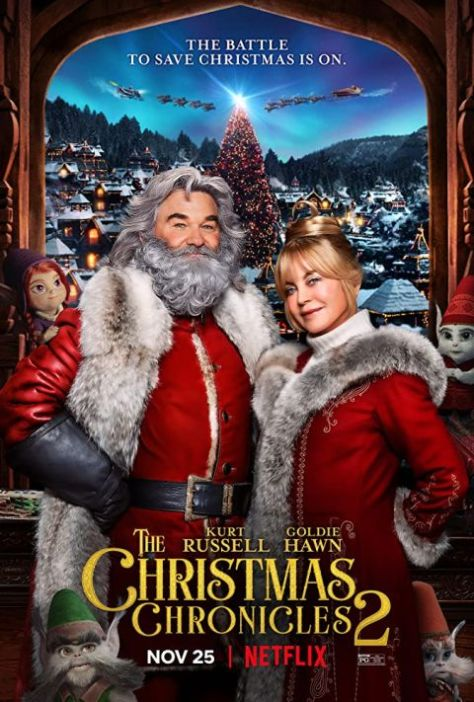 movie posters, promotional posters, the christmas chronicles 2, netflix, netflix original