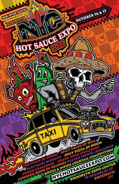 nyc hot sauce expo 2021, high river sauces, nyc hot sauce expo