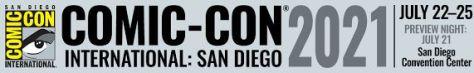 san diego comic con 2021, comic con international: san diego 2021