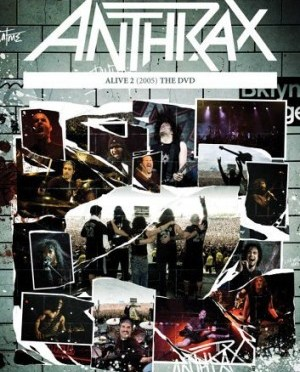 """Alive 2: The DVD"" by Anthrax"