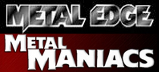"""Metal Edge"" & ""Metal Maniacs"" Magazines by Various Creatives"