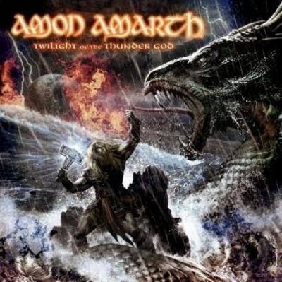 CD - Amon Amarth - Twilight Of The Thunder God