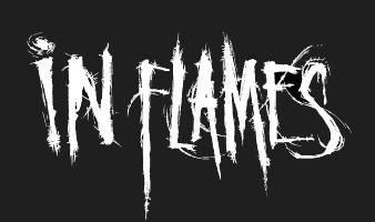 in flames logo