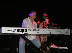 Wally Minko of Gregg Rolie Band