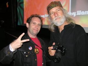 Ken Pierce & Michael Wadleigh (Woodstock Film Director)