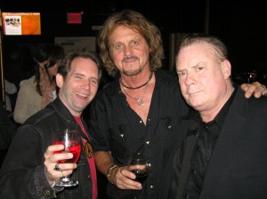 Ken Pierce with Gregg Rolie & Michael Shrieve (Original Santana)