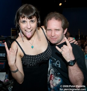 Maggie Levin & Ken Pierce Indulging the Metal Side