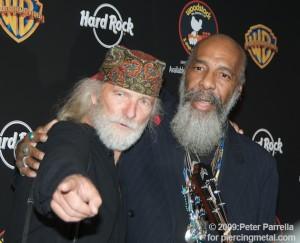 Michael Wadleigh (L) & Richie Havens (R)