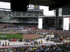 Citi Field & The Script Onstage