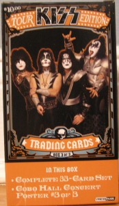 "KISS ""On Tour"" Trading Cards"