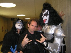 Ace Thayer, Ken Pierce, & Chris U. as Gene Simmons