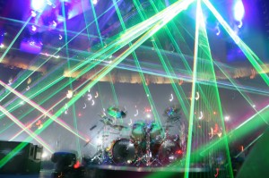 Metallica Fires Up The Lasers in NYC