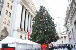 NYSE Euronext Holiday Tree 2009