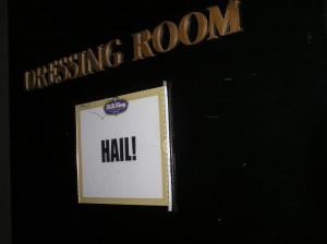 HAIL! Dressing Room