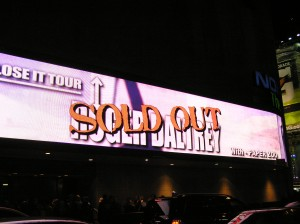 Success!!! A Sold Out Show in NYC!!!  Good Job Mate