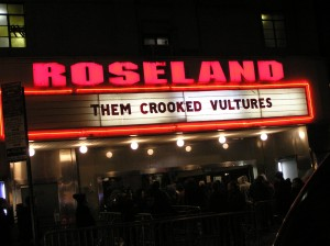 The Marquee: Them Crooked Vultures are back in NYC