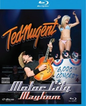 """Motor City Mayhem"" [Blu-ray] by Ted Nugent"