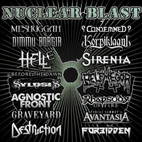"""Nuclear Blast Records Sampler"" by Various Artists"