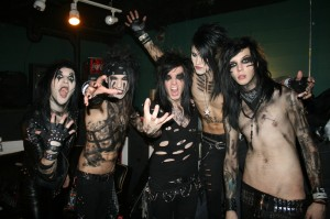black veil brides by piercingmetal, black veil brides, andy sixx