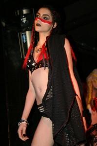sharon toxic designs, sharon ehman, toxic vision clothing, toxic visions fashion show