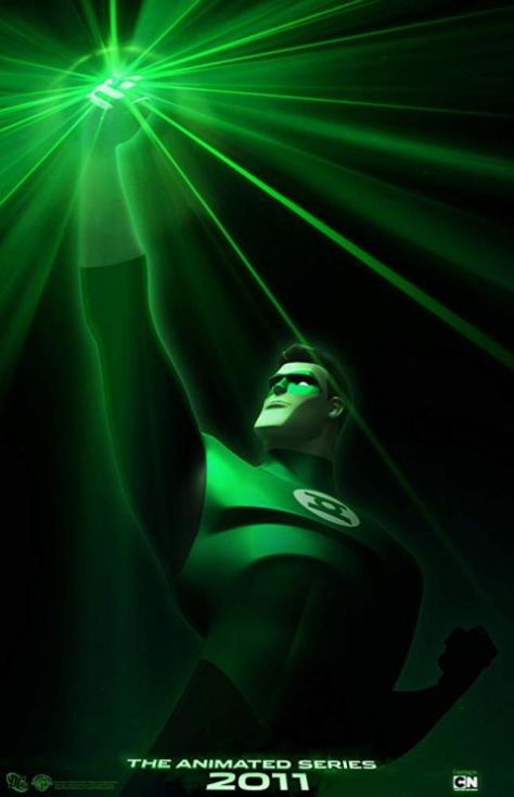 television posters, warner brothers television, green lantern the animated series