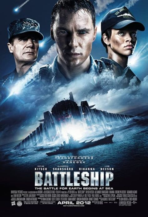 movie posters, promotional posters, universal pictures, battleship, battleship movie posters