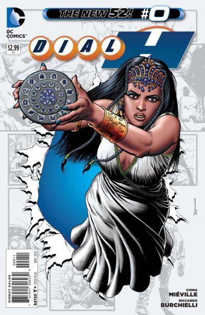 Comic - Dial H 0 - 2012