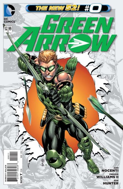 Comic - Green Arrow 0 - 2012