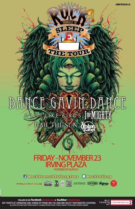 Poster - Dance Gavin Dance at Irving Plaza - 2012