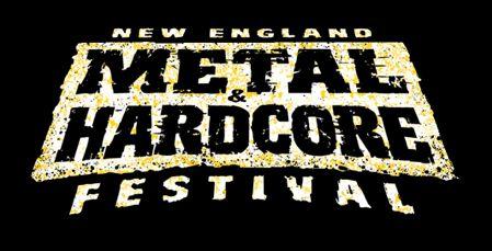 logo new england metal fest