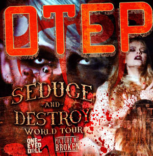 Poster - Otep at Studio - 2013