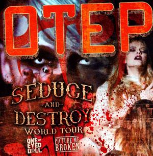 Poster - Otep at Studio - 2013