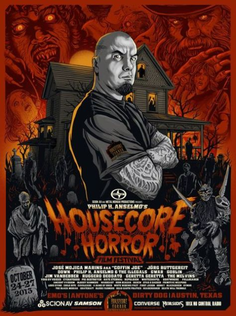phil anselmo, housecore horror film festival