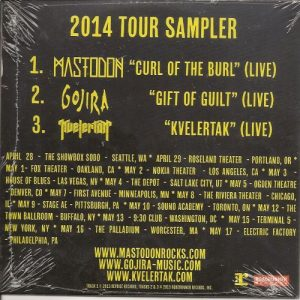 CD - Tour Sampler 2014 - Back - Mastodon