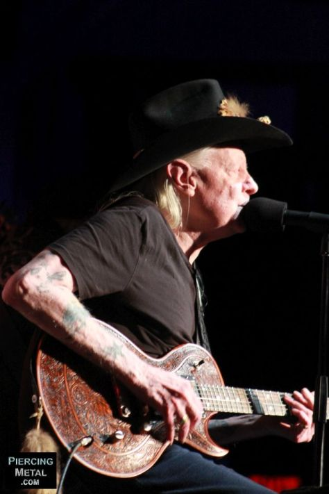 johnny winter, johnny winter concert photos