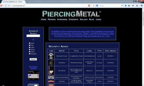piercingmetal, piercingmetal legacy site,