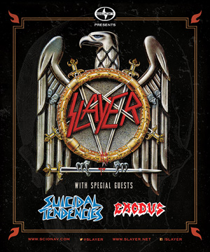 Tour - Slayer - 2014