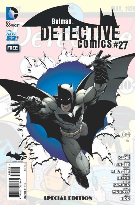 Batman Day - 2014 - Detective Comics 27 - Special Edition