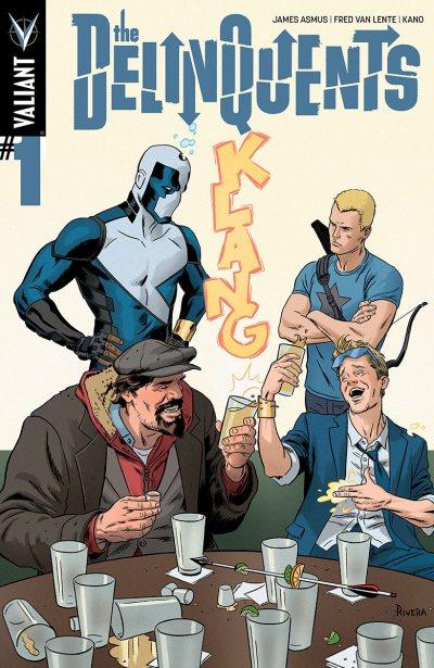 Comic - The Delinquints 1 - 2014