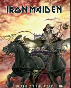 """""""Death On The Road"""" (DVD) by Iron Maiden"""
