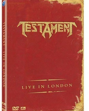 """""""Live In London"""" (DVD) by Testament"""