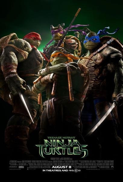 Poster - Teenage Mutant Ninja Turtles - 2014