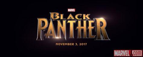 Logo - Black Panther - 2017