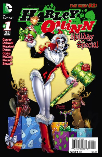 Comic - Harley Quinn Holiday Special 1 - 2014