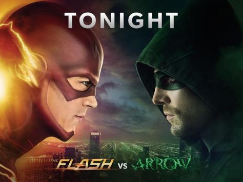 Photo - The Flash vs Arrow - 2014